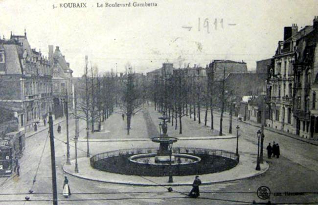 Urbanisme page 9 ateliers memoire de roubaix - Boulevard gambetta roubaix ...