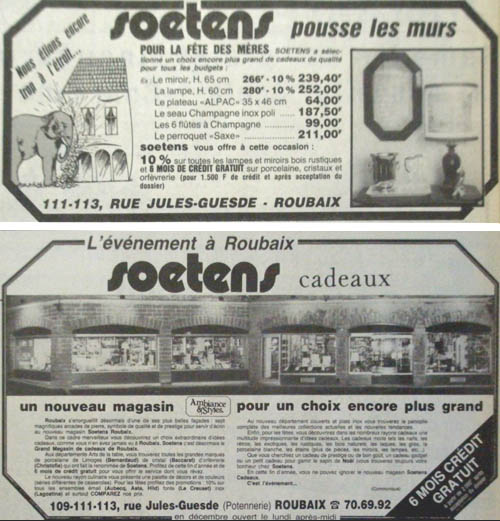 Soetens en 1982 document Nord Eclair