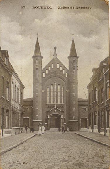 L'église Saint Antoine de Padoue CP Méd Rx