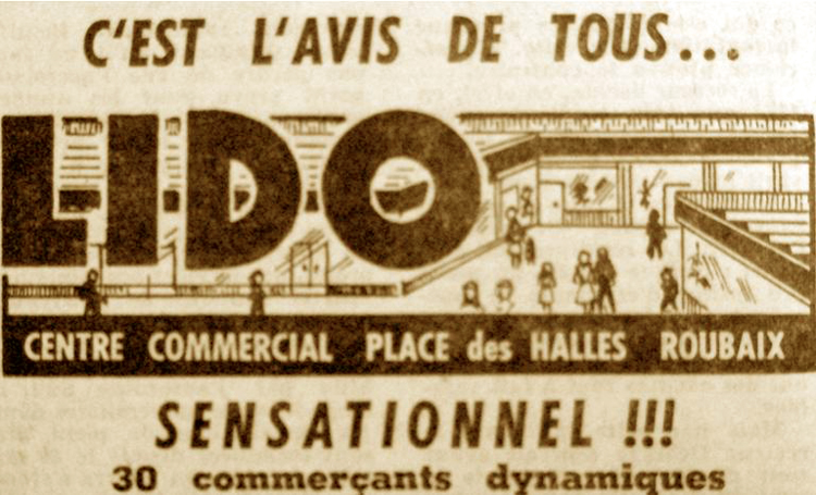 Publicité Lido parue dans Nord Eclair