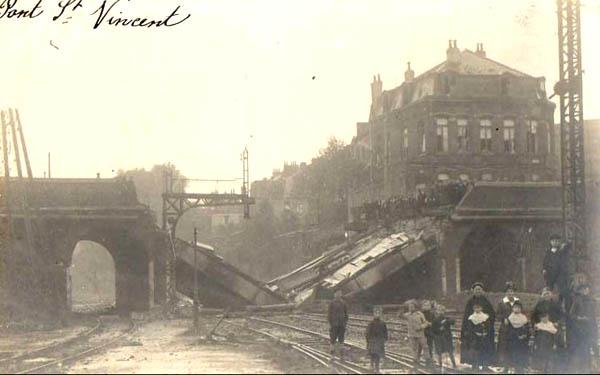 Le pont en 1918 – document collection particulière