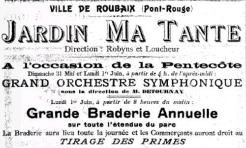 Publicité de l'Étoile du Nord 1913 Bib Gallica