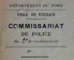 Le commissariat dont dépendait la place à l'origine – document 1930