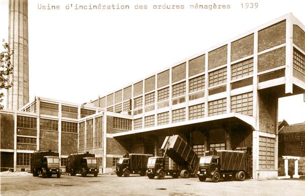 L'usine en 1939 Photo Archives Municipales de Roubaix