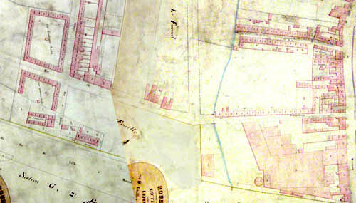Plan cadastral 1884