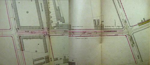 Plan voirie 1894