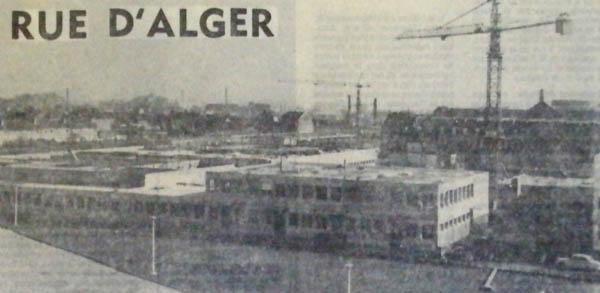 Le lycée en construction documents Nord Eclair