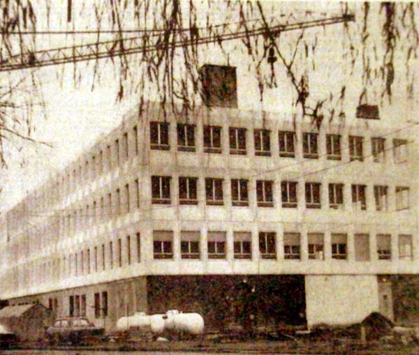 Le chantier début 1975 Photo NE