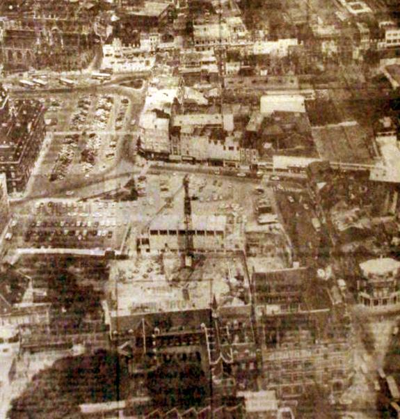 Vue aérienne du chantier Photo NE
