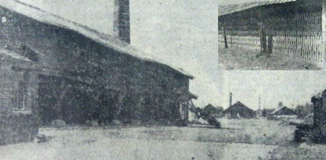 Vue générale de l'usine et détail d'un séchoir – Photos Nord Matin