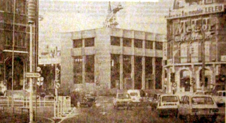 Vue du chantier en 1977 Photo NE