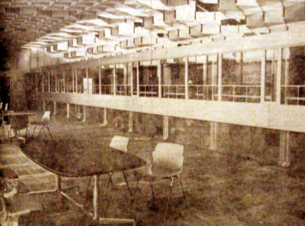 Intérieur de l'hôtel des postes Photo NE