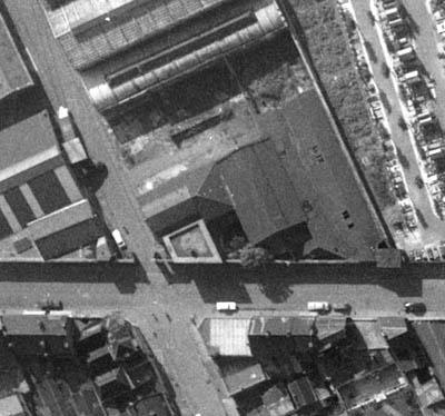 La casemate de la rue de Cartigny – document IGN