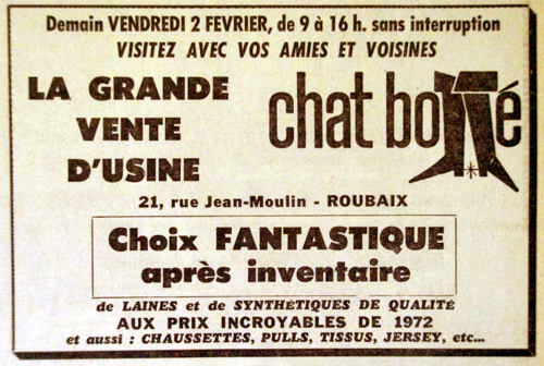 Le Chat Botté 1973 Pub NE