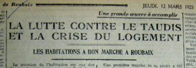 Le Journal de Roubaix – 1925