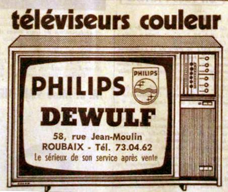 Magasin Dewulf n°56-58 Pub NE