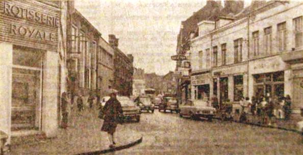 La rue du Moulin en 1973 (photo NE)