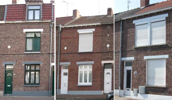 Variantes de maisons de type E – photos Jpm
