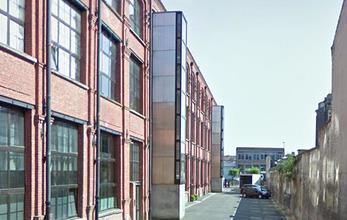 L'ancienne rue des 15 ballots, qui desservait l'usine – photo Jpm.