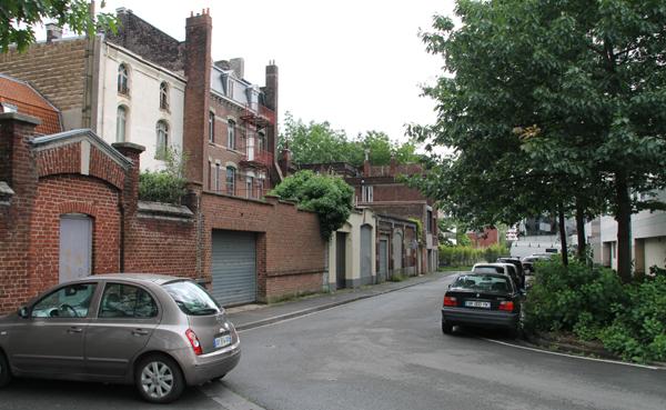 Entrée de la rue du Président Auriol Photo PhW