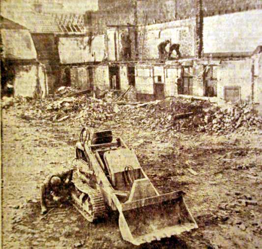Démolitions 1959 Photo NE