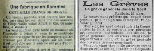 L'Egalité 1903 et l'Express du Midi 1904