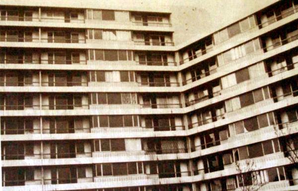 La tour Marengo en 1988 Photo NE
