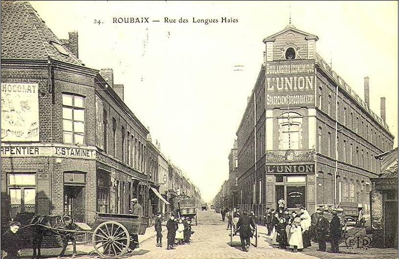 La rue des longues haies autrefois CP Méd Rx
