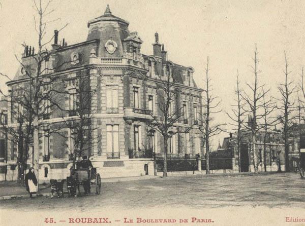 La propriété du temps de sa splendeur – document Médiathèque de Roubaix
