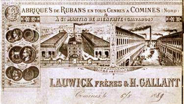 La société Lauwick Gallant Extrait de la Plaquette anniversaire
