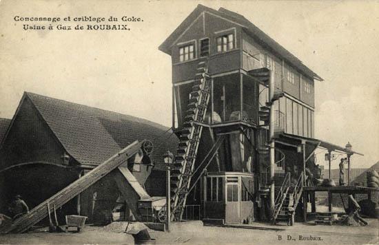 L'usine à gaz – Document Médiathèque de Roubaix