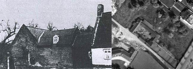 La ferme. Documents Écho du Nord 1925 et IGN 1962