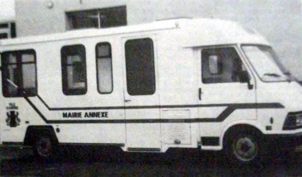 Le mairie-bus d'Amiens Photo NE
