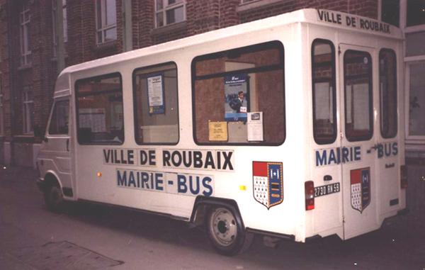 Le mairie-bus roubaisien Photo Ville de Roubaix
