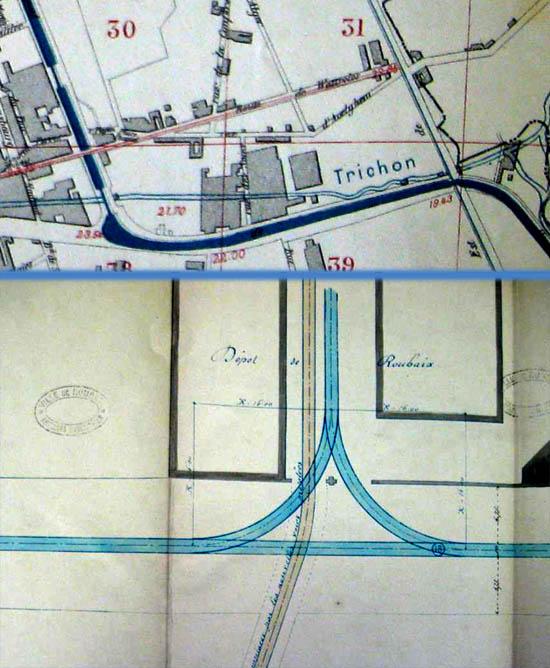 Les plans définitifs. Document archives municipales.