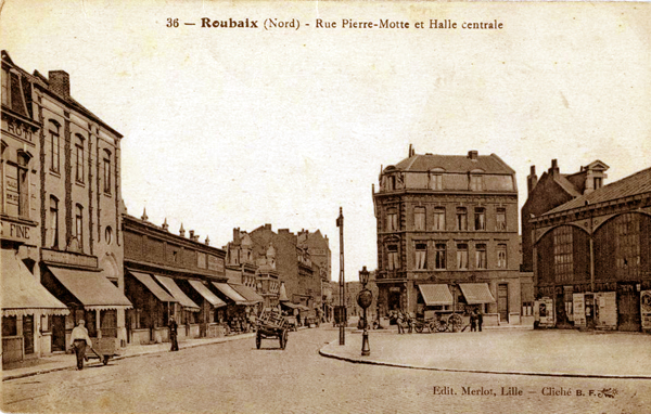 Rue Pierre Motte, le futur emplacement des magasins populaires CP Coll Méd de Rx