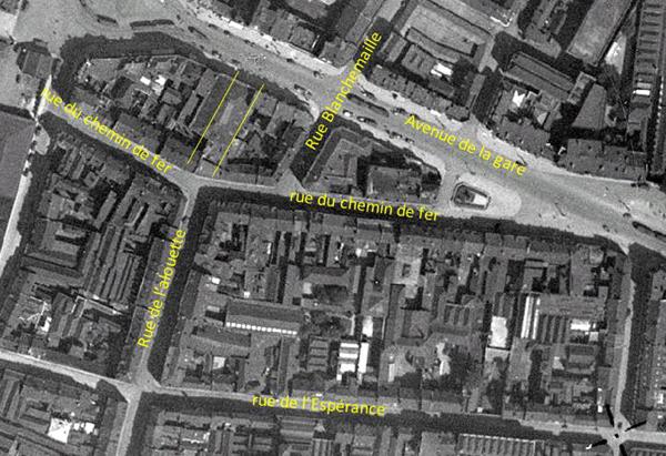 Les lieux en 1932 Photo IGN