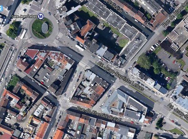 Les lieux aujourd'hui Photo Google Maps