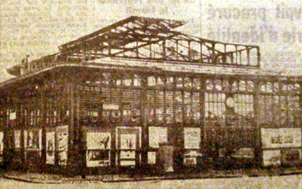 La démolition fin 1950 Photo NE