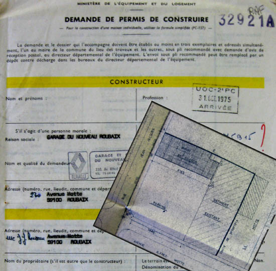 Documents Archives municipales - 1975