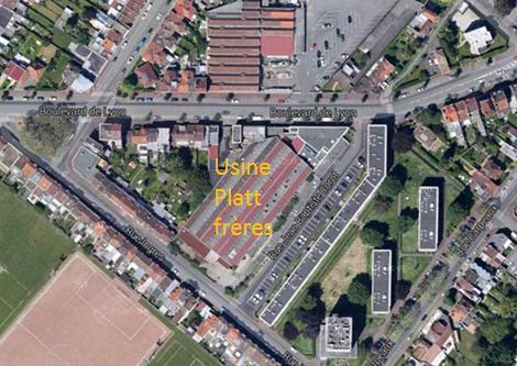 Le site aujourd'hui Photo Google maps