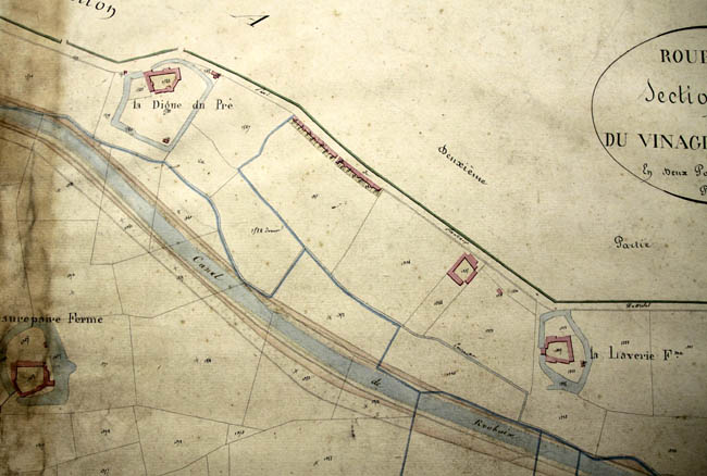 Plan cadastral 1826 – archives municipales