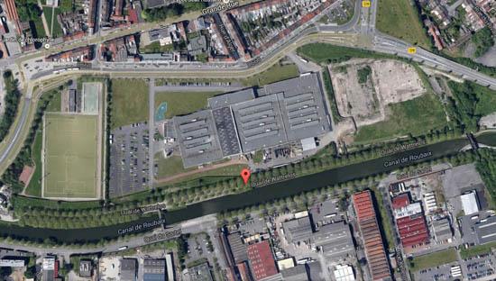 Le quai aujourd'hui – document Google maps
