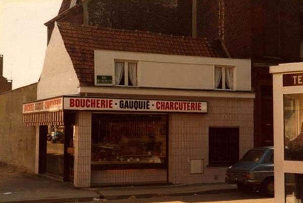 La boucherie Gauquie en 1979 Coll Privée