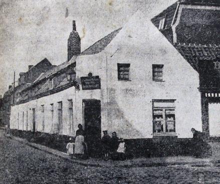 Le café de la Basse Masure en 1924 Photo JdRx