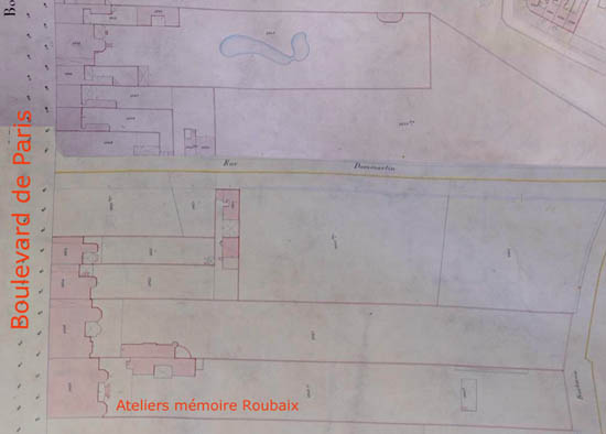 Plan Cadastral 1884 – Document Archives municipales