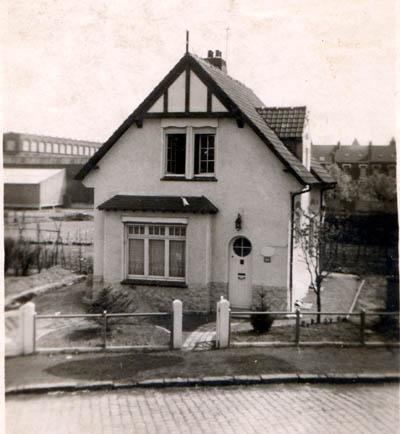 Le chalet en 1956