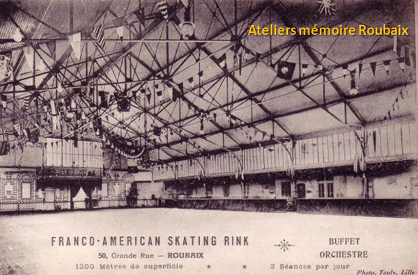 Le skating rink de la Grand Rue CP Méd Rx