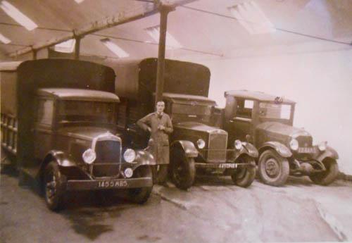 Les camions de l'après-guerre