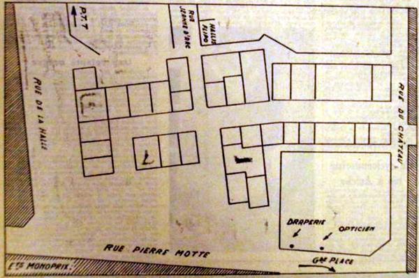 Plan du Lido 1965 Publié dans NE
